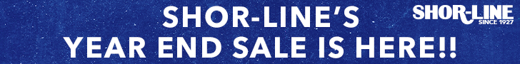 Shor-Line's Year End Sale is here