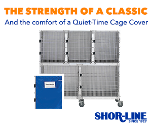 Shor-Line quiet time cage cover