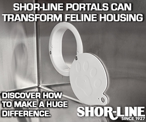 Shor-Line Portals can transform feline housing