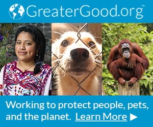 greatergood.org is working to protect people pets and the planet