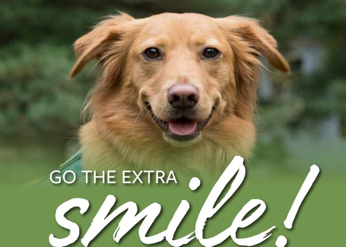 Go the extra smile!