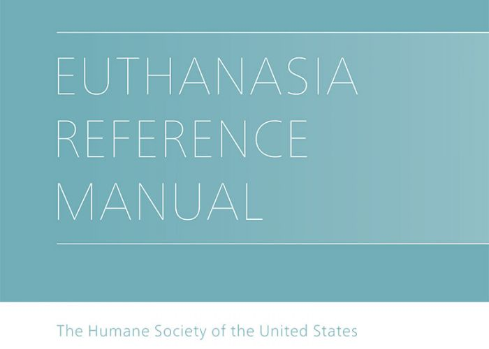Euthanasia Reference Manual